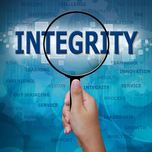 Integrity and executive team performance