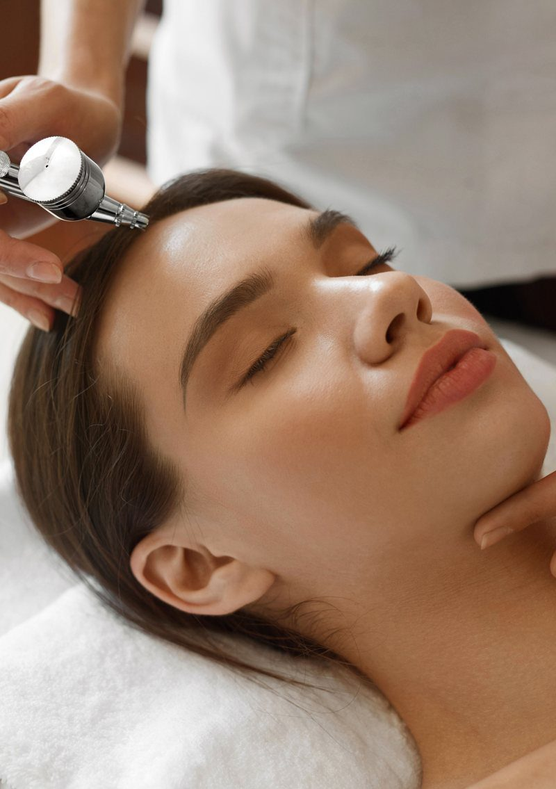 oxygen facial beauty spa