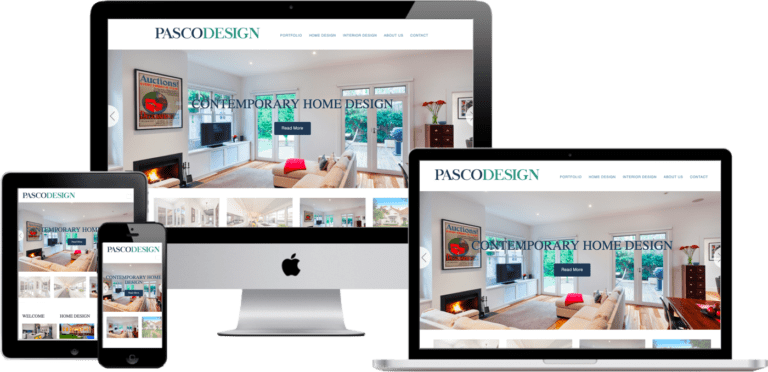 web design interior designer