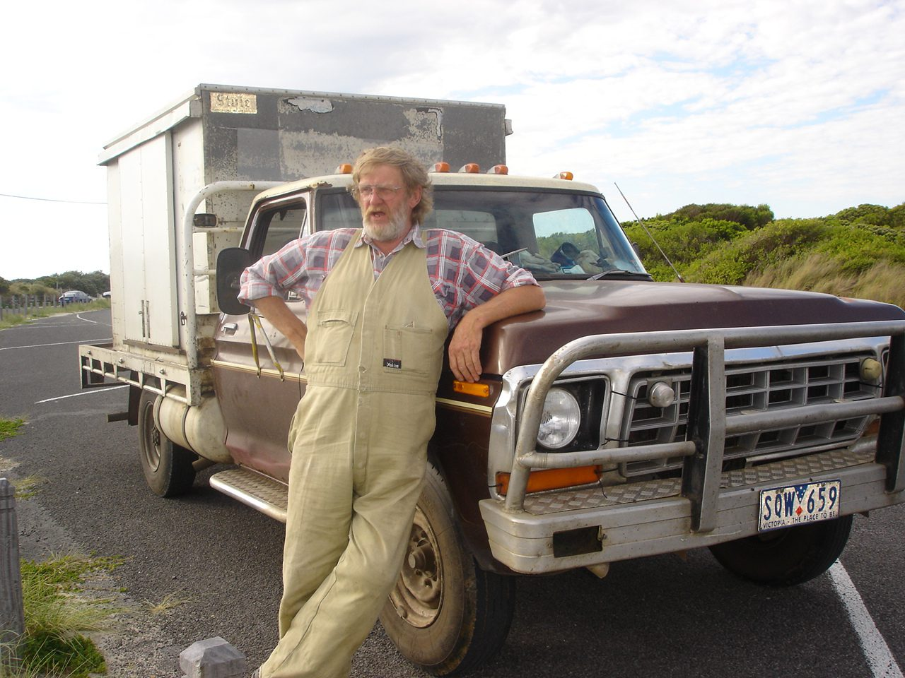 Swampy - with his Truck!
